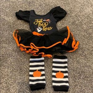 Baby girl Halloween outfit